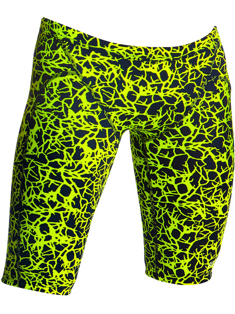Funky Trunks Training Jammers Boys Coral Gold